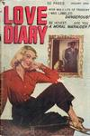 Cover for Love Diary (Orbit-Wanted, 1949 series) #4