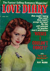 Cover for Love Diary (Orbit-Wanted, 1949 series) #27