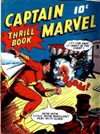 Cover Thumbnail for Captain Marvel Thrill Book (Fawcett, 1941 series) #1