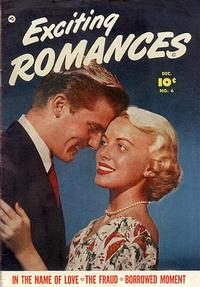 Cover Thumbnail for Exciting Romances (Fawcett, 1949 series) #6