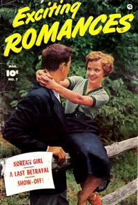 Cover Thumbnail for Exciting Romances (Fawcett, 1949 series) #7