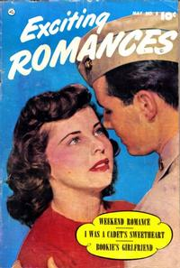 Cover Thumbnail for Exciting Romances (Fawcett, 1949 series) #8