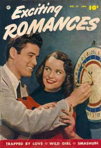 Cover Thumbnail for Exciting Romances (Fawcett, 1949 series) #12