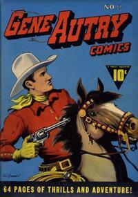 Cover Thumbnail for Gene Autry Comics (Fawcett, 1941 series) #2