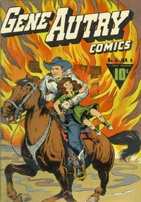 Cover Thumbnail for Gene Autry Comics (Fawcett, 1941 series) #4