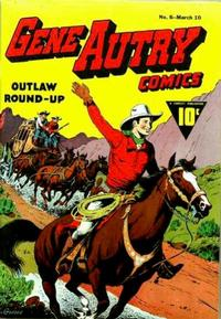Cover Thumbnail for Gene Autry Comics (Fawcett, 1941 series) #6