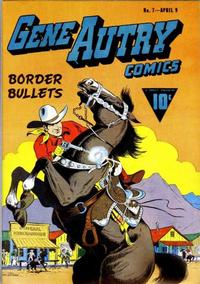 Cover for Gene Autry Comics (Fawcett, 1941 series) #7
