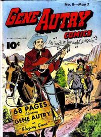 Cover Thumbnail for Gene Autry Comics (Fawcett, 1941 series) #8
