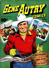 Cover Thumbnail for Gene Autry Comics (Fawcett, 1941 series) #9