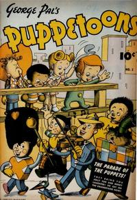 Cover Thumbnail for George Pal's Puppetoons (Fawcett, 1945 series) #2