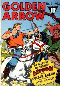 Cover Thumbnail for Golden Arrow (Fawcett, 1942 series) #2