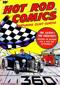 Cover Thumbnail for Hot Rod Comics (Fawcett, 1951 series) #[1]