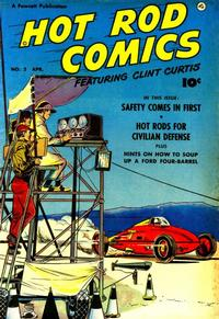 Cover Thumbnail for Hot Rod Comics (Fawcett, 1951 series) #2