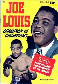 Cover Thumbnail for Joe Louis (Fawcett, 1950 series) #1
