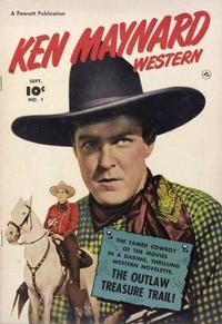 Cover Thumbnail for Ken Maynard (Fawcett, 1950 series) #1