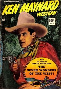 Cover Thumbnail for Ken Maynard Western (Fawcett, 1950 series) #7