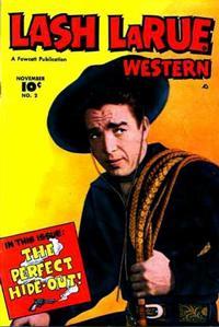 Cover Thumbnail for Lash LaRue Western (Fawcett, 1949 series) #2