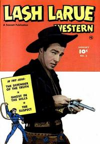 Cover Thumbnail for Lash LaRue Western (Fawcett, 1949 series) #3