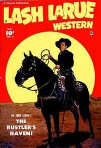 Cover Thumbnail for Lash LaRue Western (Fawcett, 1949 series) #5