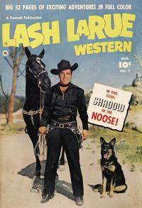 Cover Thumbnail for Lash LaRue Western (Fawcett, 1949 series) #7
