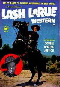Cover Thumbnail for Lash LaRue Western (Fawcett, 1949 series) #8