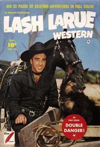 Cover Thumbnail for Lash LaRue Western (Fawcett, 1949 series) #10