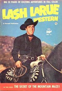 Cover Thumbnail for Lash LaRue Western (Fawcett, 1949 series) #11