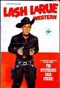 Cover Thumbnail for Lash LaRue Western (Fawcett, 1949 series) #13