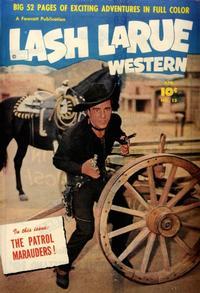 Cover Thumbnail for Lash LaRue Western (Fawcett, 1949 series) #15