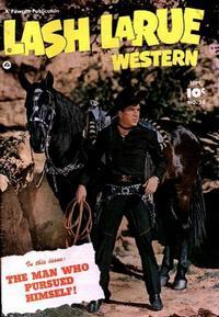 Cover Thumbnail for Lash LaRue Western (Fawcett, 1949 series) #20