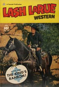 Cover Thumbnail for Lash Larue Western (Fawcett, 1949 series) #27