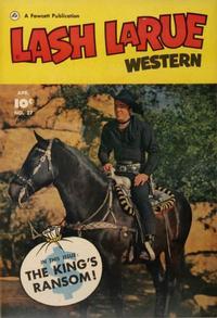 Cover Thumbnail for Lash LaRue Western (Fawcett, 1949 series) #27