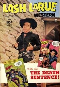 Cover Thumbnail for Lash LaRue Western (Fawcett, 1949 series) #30