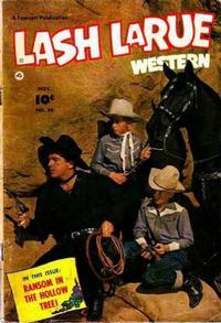 Cover Thumbnail for Lash LaRue Western (Fawcett, 1949 series) #34