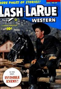 Cover Thumbnail for Lash LaRue Western (Fawcett, 1949 series) #39