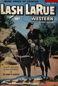 Cover Thumbnail for Lash LaRue Western (Fawcett, 1949 series) #41