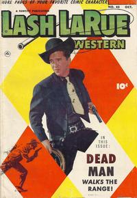 Cover Thumbnail for Lash LaRue Western (Fawcett, 1949 series) #45