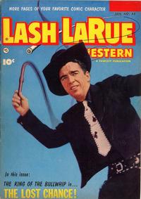 Cover Thumbnail for Lash LaRue Western (Fawcett, 1949 series) #46