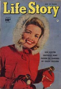 Cover Thumbnail for Life Story (Fawcett, 1949 series) #10
