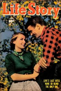 Cover Thumbnail for Life Story (Fawcett, 1949 series) #25