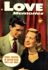 Cover Thumbnail for Love Memories (Fawcett, 1949 series) #3