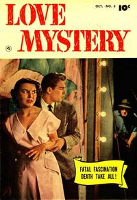 Cover Thumbnail for Love Mystery (Fawcett, 1950 series) #3