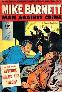 Cover Thumbnail for Mike Barnett, Man Against Crime (Fawcett, 1951 series) #3