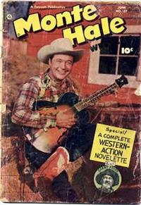 Cover Thumbnail for Monte Hale Western (Fawcett, 1948 series) #37