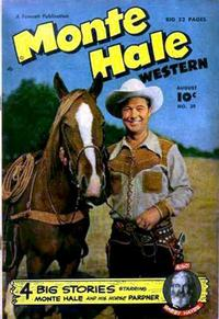 Cover Thumbnail for Monte Hale Western (Fawcett, 1948 series) #39