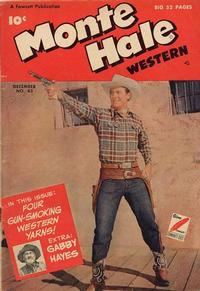 Cover for Monte Hale Western (Fawcett, 1948 series) #43