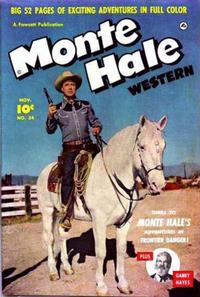 Cover Thumbnail for Monte Hale Western (Fawcett, 1948 series) #54