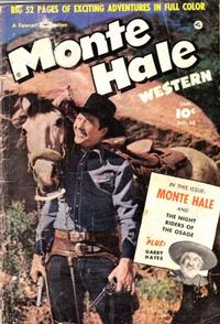 Cover Thumbnail for Monte Hale Western (Fawcett, 1948 series) #56