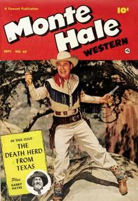 Cover Thumbnail for Monte Hale Western (Fawcett, 1948 series) #64