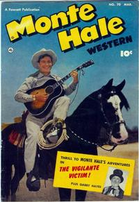 Cover Thumbnail for Monte Hale Western (Fawcett, 1948 series) #70
